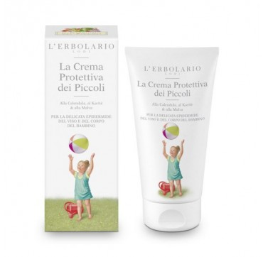 L'ERBOLARIO PROTECTIVE CREAM FOR BABIES FOR THE DELICATE SKIN OF FACE AND BODY 150ML