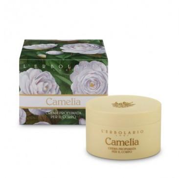 L'erbolario Camellia Perfumed Body Cream - Αρωματισμένη Κρέμα Σώματος Με Καμέλια 200ml