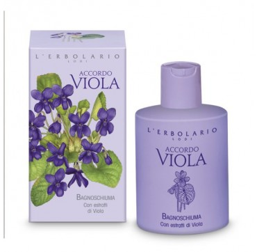 L'ERBOLARIO ACCORDO VIOLA SHOWER GEL-ΑΦΡΟΛΟΥΤΡΟ 300ML