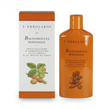L'ERBOLARIO AFTER-SUN SHOWER GEL TAN PROLONGING PRODUCT 375ML