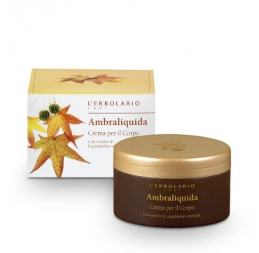 L'ERBOLARIO AMBRALIQUIDA BODY CREAM 250ML