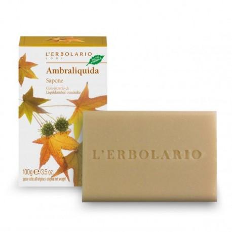 L'ERBOLARIO AMBRALIQUIDA BAR SOAP 100G