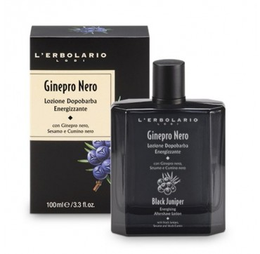 L'ERBOLARIO BLACK JUNIPER ENERGISING AFTERSHAVE LOTION 100ML