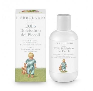 L'ERBOLARIO IL GIARDINO DEI PICCOLI VERY GENTLE OIL FOR BABIES 200ML