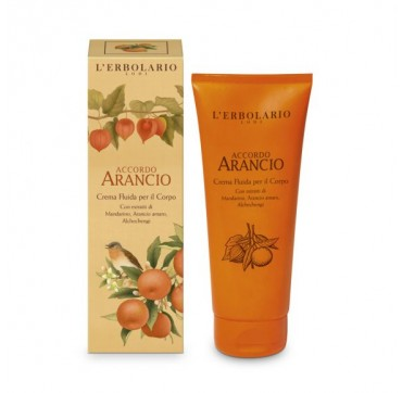L'ERBOLARIO ACCORDO ARANCIO FLUID BODY CREAM 200ML