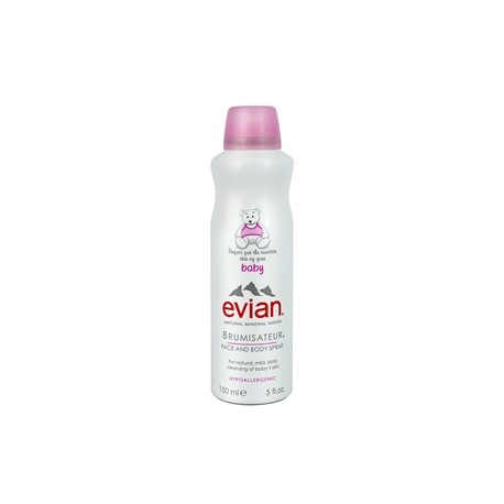 EVIAN – Baby Natural Mineral Water Brumisateur Face and Body Spray – 150ml