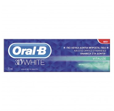 Oral-B Οδοντόκρεμα 3D White Revitalize 75ml