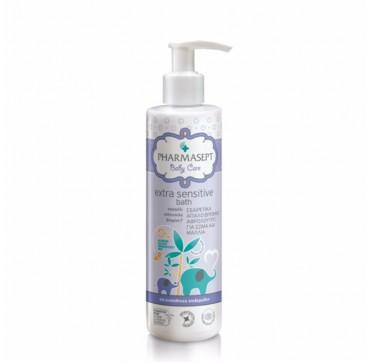 Pharmasept Baby Care Extra Sensitive Bath Απαλό Βρεφικό Αφρόλουτρο για Σώμα και Μαλλιά 250ml