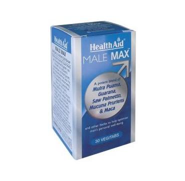 HEALTHAID MALE MAX 30tabs