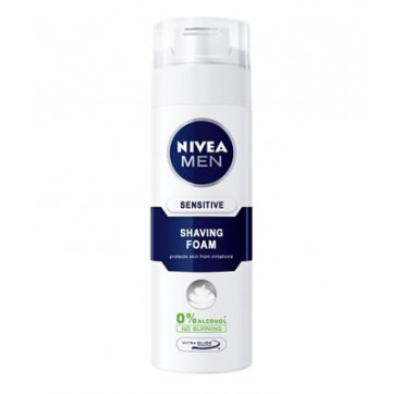 Nivea Men Sensitive Αφρός Ξυρίσματος Travel Pack 35ml