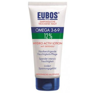 EUBOS OMEGA 3-6-9 12% HYDRO ACTIVE LOTION ΜΕ DEFENSIL 200ML