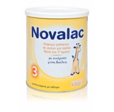 Novalac 3 Ρόφημα Γάλακτος Σε Σκόνη Για Μικρά Παιδιά 400g