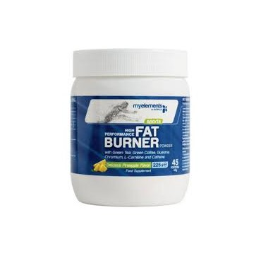 MY ELEMENTS FAT BURNER POWDER PINEAPPLE 225G