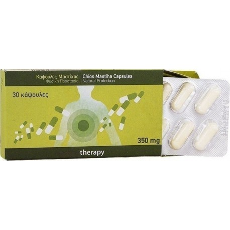 PharmaQ MastihaTherapy Κάψουλες Μαστίχας 30caps
