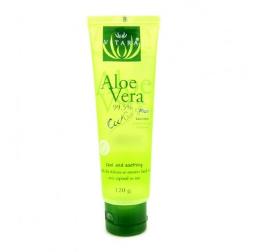 VITARA ALOE VERA GEL PLUS COOL GEL 99,5+ CUCUMBER – 120g.