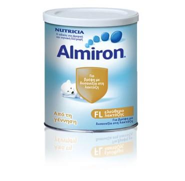 Nutricia Almiron Fl Ειδικο Γάλα Για Βρέφη Με Δυσανεξία Στη Λακτόζη 400g