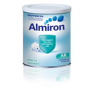 Nutricia Almiron Ar Ειδικο Γάλα Για Την Αντιμετώπιση Των Ανάγωγων Από Τη Γέννηση 400g