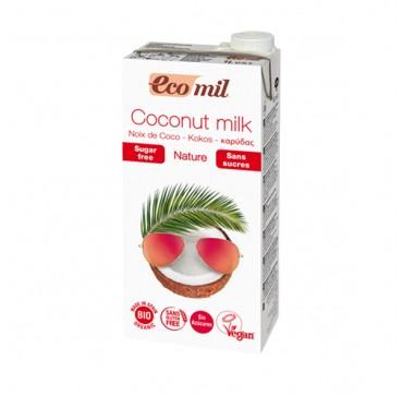 Ecomil Bio Coconut Milk Sugar Free Γάλα Καρύδας 1lt