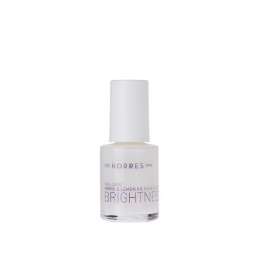 KORRES BASE COAT OPTICAL BRIGHTENER ΛΑΜΨΗ ΜΥΡΟ&ΛΕΜΟΝΙ 10ML