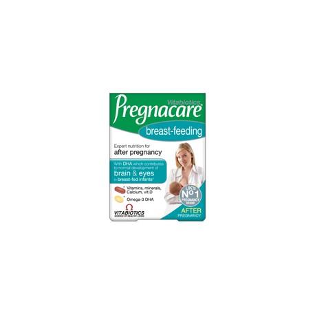 Vitabiotics Pregnacare Breast-feeding Με Βιταμίνες, Μέταλλα & Ασβέστιο Και Ωμέγα-3 Dha 56tabs+28caps