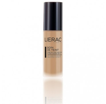 LIERAC SOIN DE TEINT ANTI-AGING FOUNDATION SMOOTHING FLUID SPF15 GOLD 30ML