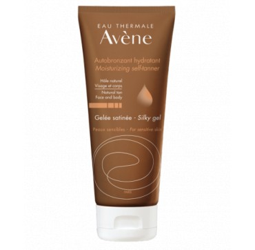 AVENE MOISTURIZING SELF-TANNER FACE & BODY SILKY GEL 100ML