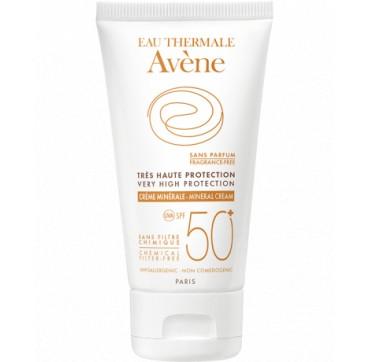 Avene Mineral Cream Χωρίς Άρωμα Spf50+ 50ml
