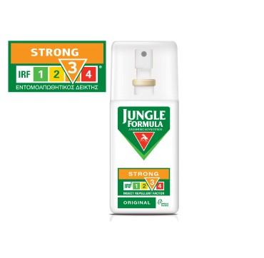 Omega Pharma Jungle Formula Strong Original Irf3 Εντομοαπωθητικό Κουνουπιών 75ml