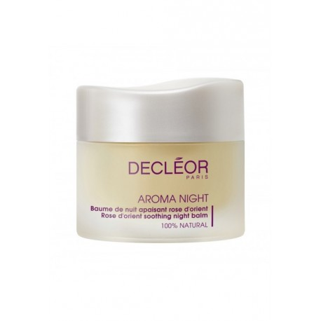 DECLEOR NIGHT BALM SOOTHING ROSE D ORIENT 30ml