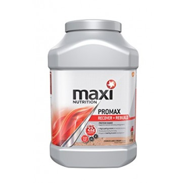 MAXINUTRITION MAXIMUSCLE PROMAX RECOVER + REBUILD ΠΡΩΤΕΪΝΗ COOKIES & CREAM 960G