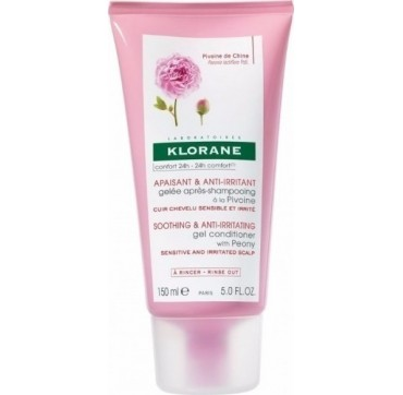 KLORANE SOOTHING & ANTI-IRRITATING GEL CONDITIONER WITH PEONY FOR SENSITIVE AND IRRITATED SCALP 150ML