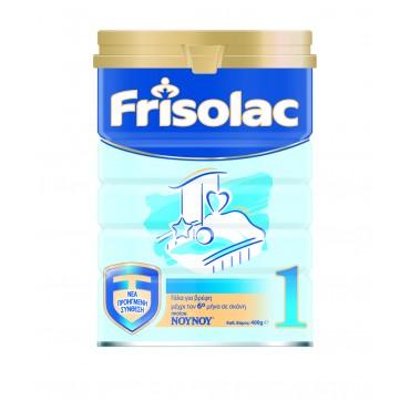 Nounou Frisolac 1 Γάλα Για Βρέφη Μέχρι Τον 6ο Μήνα 400g