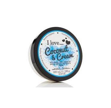 I LOVE COSMETICS COCONUT & CREAM NOURISHING BODY BUTTER 200ml