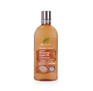 Dr.organic Bioactive Moroccan Argan Oil Shampoo Moisture Repair Σαμπουάν Με Βιολογικό Έλαιο Αργκάν 265ml