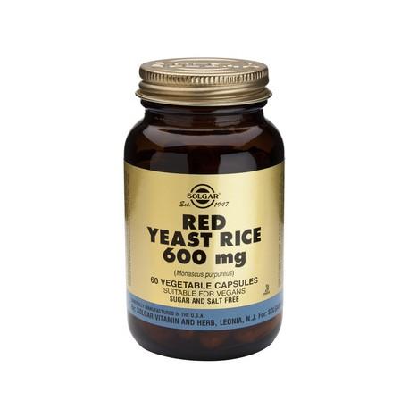 SOLGAR RED YEAST RICE 600MG 60VEG.CAPS