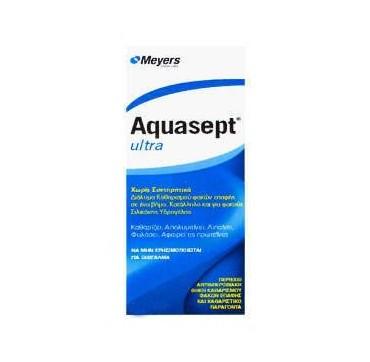 Meyers Aquasept Ultra Travel Size Διάλυμα Καθαρισμού Φακών Επαφής 60ml