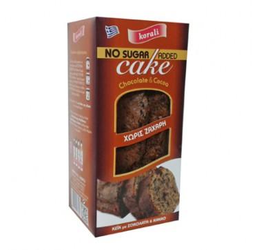 Kallisti No Sugar Added Cake Chocolate & Cocoa Κέικ Με Σοκολάτα & Κακάο Χωρίς Ζάχαρη 250g