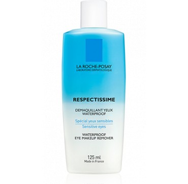 LA ROCHE-POSAY RESPECTISSIME WATERPROOF EYE MAKEUP REMOVER ΛΟΣΙΟΝ ΚΑΘΑΡΙΣΜΟΥ 125ML