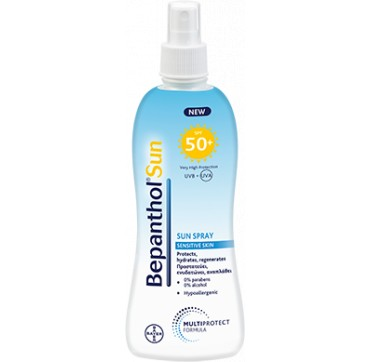 BEPANTHOL SUN SPRAY SENSITIVE SKIN ΑΝΤΙΗΛΙΑΚΟ SPRAY SPF50+ 200ML