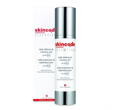 SKINCODE DAILY DEFENCE & RECOVERY VEIL SPF30 50ml
