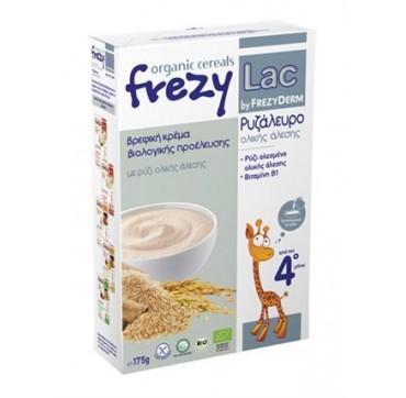 Frezyderm Frezylac Organic Cereals Βρεφική Κρέμα Βιολογικής Προέλευσης Ρυζάλευρο Με Ρύζι Ολικής Άλεσης Από Τον 4ο Μήνα 175g