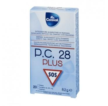 Cosval P.c. 28 Plus Sos Φυτικό Παυσίπονο 20tabs