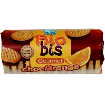 Βιοαγρός Βιολογικά Μπισκότα Μαύρη Σοκολάτα-πορτοκάλι 85g