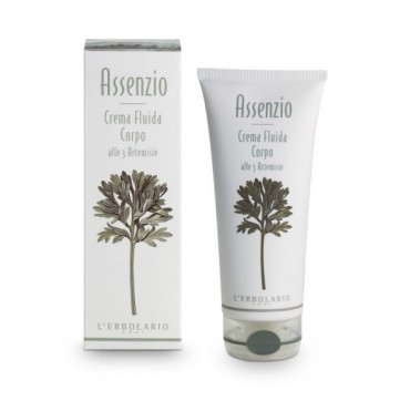 L'ERBOLARIO ABSINTHIUM FLUID BODY CREAM WITH THE 3 ARTEMISIA SPECIES ΚΡΕΜΑ ΣΩΜΑΤΟΣ 200ML