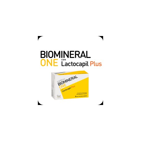 BIOMINERAL ONE WITH LACTOCAPIL PLUS 30TABS