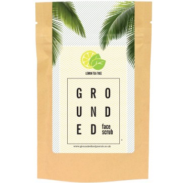 GROUNDED FACE SCRUB LEMON TREE TEA 60g