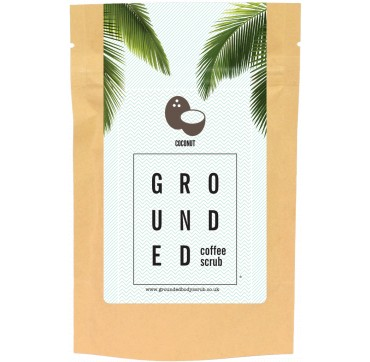 GROUNDED COFFEE SCRUB COCONUT 200g