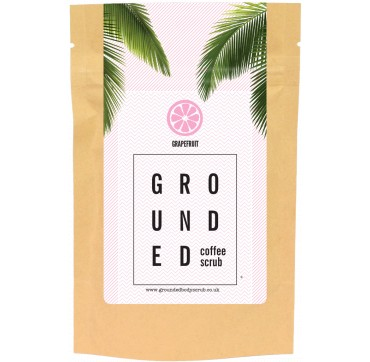 GROUNDED COFFEE SCRUB GRAPEFRUIT 200g