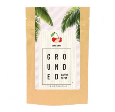 GROUNDED COFFEE SCRUB CHERRY ALMOND 200g