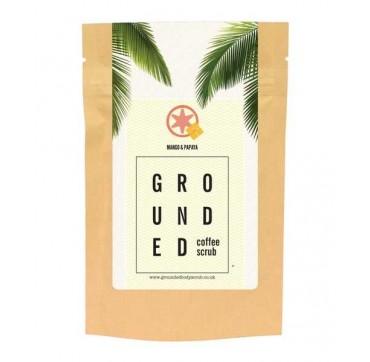 GROUNDED COFFEE SCRUB MANGO & PAPAYA 200g